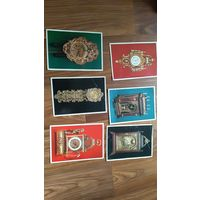 6 открыток Часы Pressfoto CSTK Braticlava