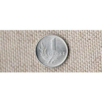 Польша 1 грош 1949/(Oct)