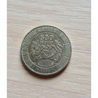 Центральная Африка 500 франков 2006 (BEAC 500 FRANCS)