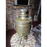 Царский самовар Баташевский на 5 литров, с печатями, в оригинале.