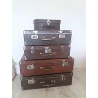 Винтажные чемоданы из СССР 60год