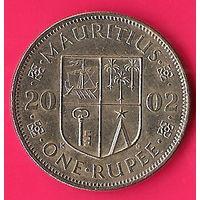 43-15 Маврикий, 1 рупия 2002 г.