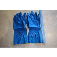 Перчатки резиновые (латекс)