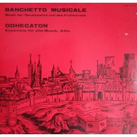 Banchetto Musicale/Renaissance And Barock/1978, FSM, LP, NM, Germany