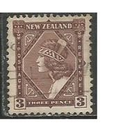 Новая Зеландия. Девушка племени Маори. 1935г. Mi#194.