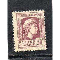 Алжир. Mi:DZ 208. Марианна д'Алжер. 1944