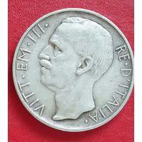Италия 10 лир 1928. Редкость