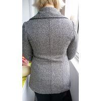 Пальто женское шерстяное приталенное 46-50 р-р деми весна