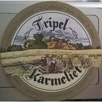 Tripel Karmeliet подставка под пиво (Бельгия)