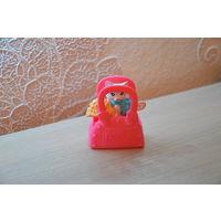 Игрушка McDonalds (Кот-колечко в сумочке)_Лот #И074