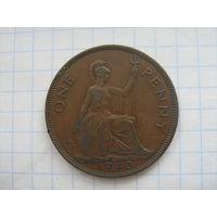 Великобритания 1 пенни 1940г. редкий год