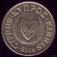 5 центов 2004 год Кипр