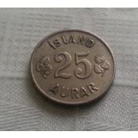 25 эйре 1962 г. Исландия
