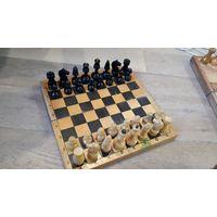 Советские резные шахматы. Дерево.