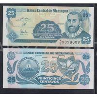 25 сентаво 1991. Никарагуа