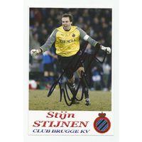 Stijn Stijnen(Brugge, Бельгия). Живой автограф на фотографии.