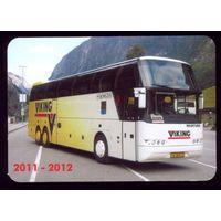 1 календарик Автобус Викинг