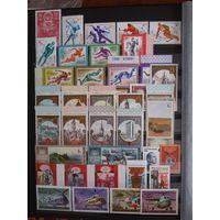 Полный годовой набор почтовых марок и блоков 1980 СССР ** с 1 рубля без мц