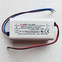 Блок питания 9-36В, 0.35А, 12.6Вт Источник, драйвер Mean Well. 9-36 Вольт. 0,35 Ампер, 12,6 Вт. APC-12-350