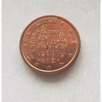 1 евроцент 2005 Испания