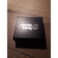 Коробка (футляр) под серебряную монету 3 рубля Сочи 2014 Олимпиада в Сочи