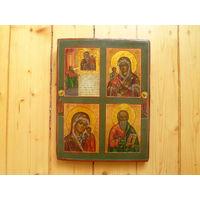 Икона четырехчасник Ветка