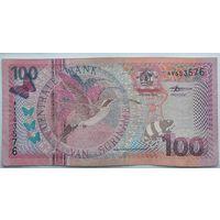 Суринам 100 Гульденов 2000, XF, 655