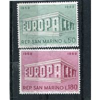 Сан Марино. Европа СЕРТ 1969