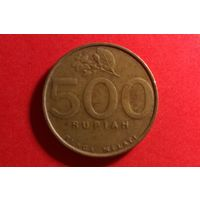 500 рупий 2002. Индонезия!