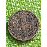 Камерун 50 сантим 1926 г