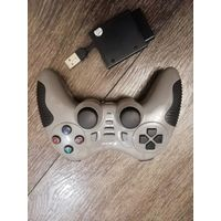Геймпад Джойстик JITE CX-506 2.4G Wireless USB PC Controller Game Pad Joystick Dual Shock для Sony PS2 PS3