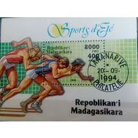Мадагаскар 1994 лёгкая атлетика