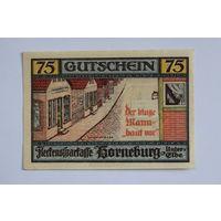 2. Нотгельд - Германия - 75 Pfennig 1921 год, aUNC