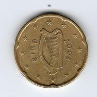 20 евроцентов Ирландия 2005