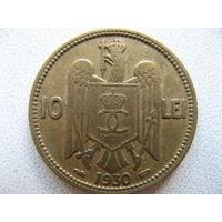 Румыния 10 лей 1930 г.