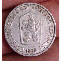10 геллеров 1967  Чехия