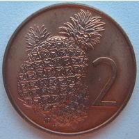 Острова Кука 2 цента 1975 г.
