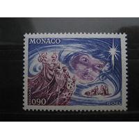 Марка - Монако - праздники, Рождество и Новый год