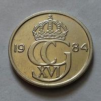 50 эре, Швеция 1984 г., лучше Отличная