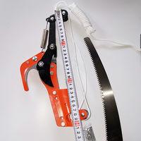Садовые ножници - сучкорез с пилой для обрезки веток на вершине деревьев. распродажа.