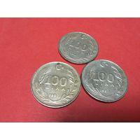 100 лир 1987 года Турции