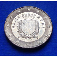 Мальта 20 евроцентов 2008