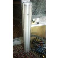 """Светильник """"Айсберг""""(ЭПРА) 2*36 Watt, с лампами в комплекте, Б/у..."""
