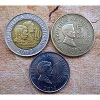 Филиппины. 3 монеты 2003-2014 г.