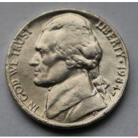 США, 5 центов 1984 г. Р