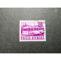 Марка Румыния 1968 год. Транспортные средства