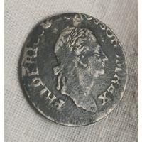 Германия Пруссия 3 гроша 1780 года  Фридрих II Серебро