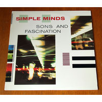 "Simple Minds ""Sons And Fascination"" LP, 1981"