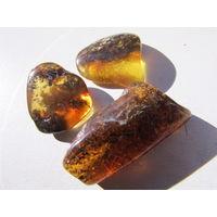 Натуральные камни янтарь. С 1 рубля!