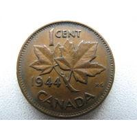 Канада 1 цент 1944 г.
